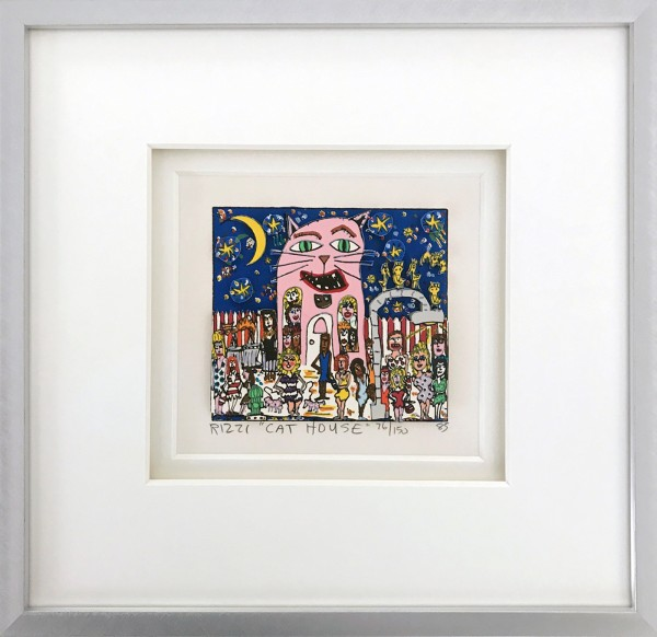 CAT HOUSE (1985) - JAMES RIZZI