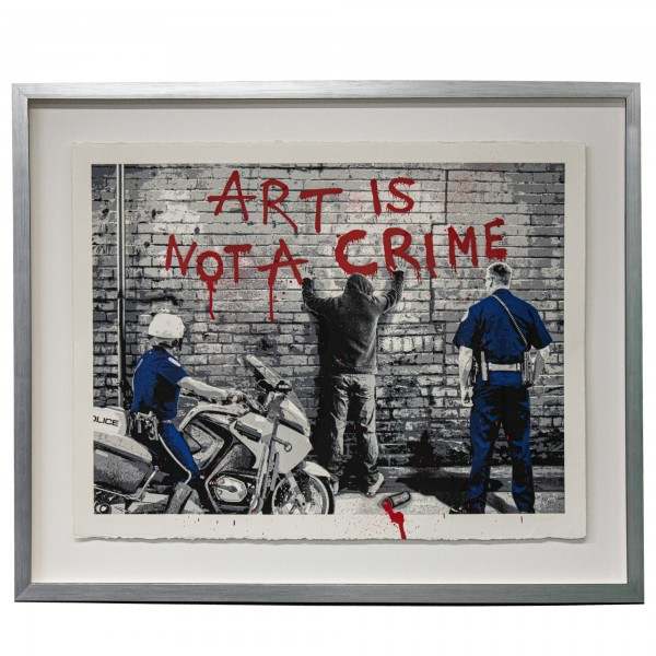 ART IS NOT A CRIME (2013) - MR. BRAINWASH