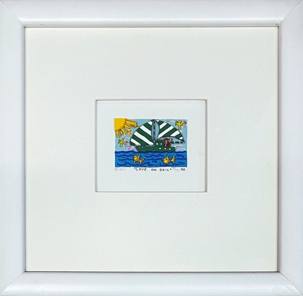 LOVE ON SAIL (1990) - JAMES RIZZI