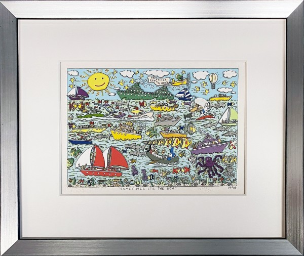 SOMETIMES IT'S THE SEA (1996) - JAMES RIZZI