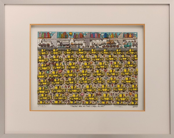 THERE ARE NO TWO CABS ALIKE (2007) - JAMES RIZZI