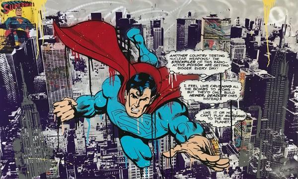 SUPERMAN - ALUMINIUM