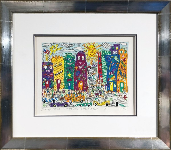 PAINTING THE TOWN (1979) - JAMES RIZZI